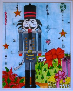 Nutcracker Advent Countdown Christmas Calendar