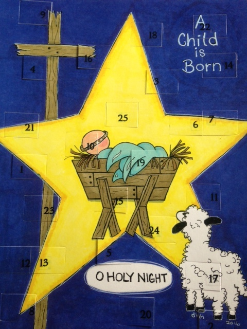 Nativity Advent Countdown Calendar